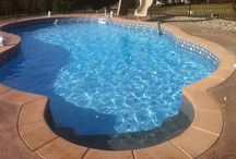 Phenomenal Pools / Here are some pool designs that we like! You can get your landscape edging to create these ideas from YardProduct.com! / by Dreamscape: Yard Product