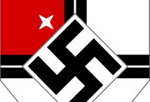 WWll, nazism, fascism and wolfenstein[characters]etc.