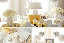 urban chic co-ed cocktail showerbration - it's a baby shower, but let's not get crazy... / A cocktail party for a sophisticated couple where a baby shower breaks out.  The only one not sipping a cocktail is the expectant mom & party games are absolutely forbidden. / by Kelly Bower of Creative Spirit