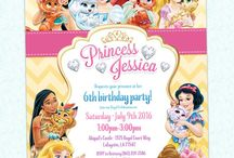Princess Party | Ideas & Inspiration / Princess birthday party printables, invitations, and party decorating ideas