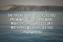 Quotes / by Amanda Lawson