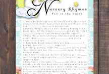 Poetry, Rhymes and writing verse / Traditional, nursery, skipping rope & contemporary
