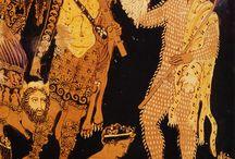 Hellenic painting vases