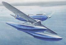 Supermarine S6B & Schnieder Trophy planes