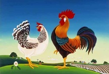 Chooks roosters an stuff..