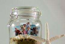 Vacation mason jar