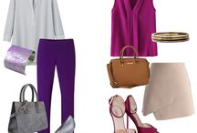 Фиолетовые штаны