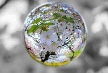 water dropp and bubble.
