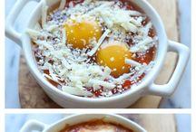 vejce - snídaně/večeře