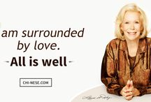 Louise Hay Affirmations / Louise Hay affirmations for love, health, success or wealth.