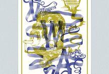 affiches sérigraphiées par Supersenor