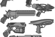 Guns / Firearms, mostly conceptual for games etc.