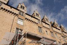Château de Rochechouart / Ce château appartient au département de la Haute-Vienne depuis 1836. Le musée de Rochechouart est entre ses murs. http://www.musee-rochechouart.com/index.php