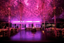 Purple & lavender / Wedding inspirations for Purple and Lavender hues of lighting and draping. #Chicago All decor, lighting, and fabric produced by Art of Imagination's Deborah Weisenhaus and her team. www.artofimagination.com
