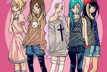 Girl types