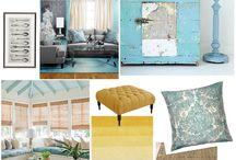 Interior design boards