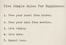 Good Rules to Live By