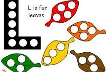 Fall Early Learning Printables / Depending on what time of the year you see this message, fall is VERY far away! Or close! Who knows but you! In the mean time, prepare for the season with these fun activities from www.makinglearningfun.com.  / by Jo Kramer
