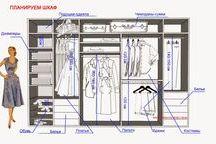 Планировка мебели в дом