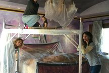 Faux Time Design Team At Work / Watch as we turn walls, ceilings, countertops, moldings (and just about anything you can imagine)... Into works of art!