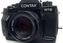 Contax RTS III 35mm SLR Film Camera w/Planar 50mm f1.4 Lens