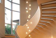 centre piece stair lights