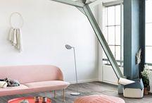 Canapé rose pour mon salon ❤️
