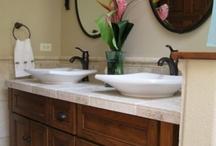 Home Decor- Bathroom / Ideas/inspiration for decorating/furnishing the bathroom