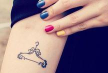 Tatuagem - moda / Inspiração de tatuagem para quem gosta de moda