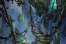 Fantasy. / The beauty of fantasy realms and magical worlds.