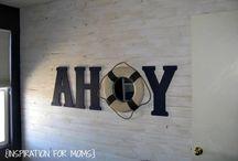 Ahoy Bedroom / Habitacion pIrata para niños