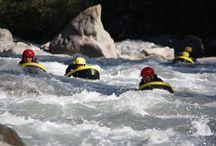 Hydrospeed nage en eau vive Ubaye / De la nage en eau vive ou hydrospeed sur la rivière de L'Ubaye