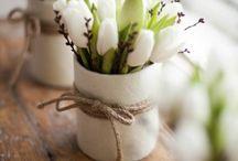 C'est le printemps ! / Fin de la grisaille, le #printemps est là et avec lui comme une envie de renouveau. Découvrez quelques idées de #déco pleines de couleurs