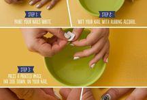 Nail slicks