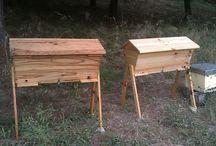 Colmeias Top Bar / Colmeias que deixam as abelhas trabalhar de forma Natural