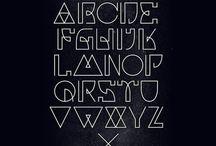 schrift / Font