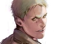 """Reiner Braun(Snk) / """"It's too late. I don't know what's right anymore. The only choice for me now is to face the consequences of my actions.. and as a warrior.. fulfill my duty to the bitter end!"""""""