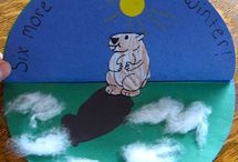 Groundhog Day / Groundhog crafts, poems and activities for my grade one class. / by Barbara Leyne
