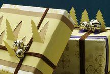 на новый год упаковки подарков