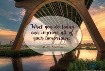Inspiration, Aspiration / #MotivationalMonday keeps us going.
