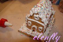 christmas cakes!!!!