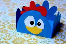 Bird craft idea / This page has a lot of free Bird craft idea for kids,parents and preschool teachers.
