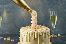 Pouring cake