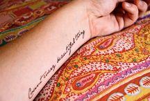 tattoos / by Alli Stafford