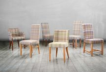 Moon Collection / We've paired some of our best selling chairs with gorgeous 100% wool from Abraham Moon and Sons. With a choice of fabric colour and leg finish this collection offers a fabulous array of choices that's quite simply not available on the High Street. Shop now: http://ow.ly/ztZxi