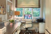 Office/craftroom / by Melisa Maria