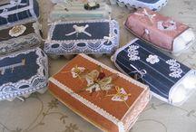 scatoline porta gioielli a uncinetto