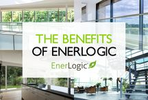 Benefits of Enerlogic Window Film / Experience EnerLogic's Energy Efficient solutions now. For high performance window film solutions look no further than EnerLogic. EnerLogic Window Films allow all the gains in efficiencies of a glazing upgrade, to either a single glazed window or a clear double glazed unit, and all without the expense, inconvenience and impact on the environment of window replacement.