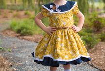 """""""Alivia"""" Sewing Pattern for Girls 6 months - 12 years /  **NEW** $5.00 until Midnight, September 10, 2017 includes Alivia Sew Along Membership beginning September 18, 2017. After purchase join us here: https://www.facebook.com/groups/aliviapatternsewalong"""