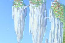 Floating Island/City